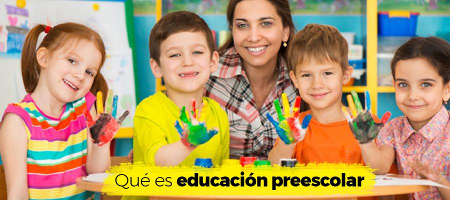 Qué es educación preescolar