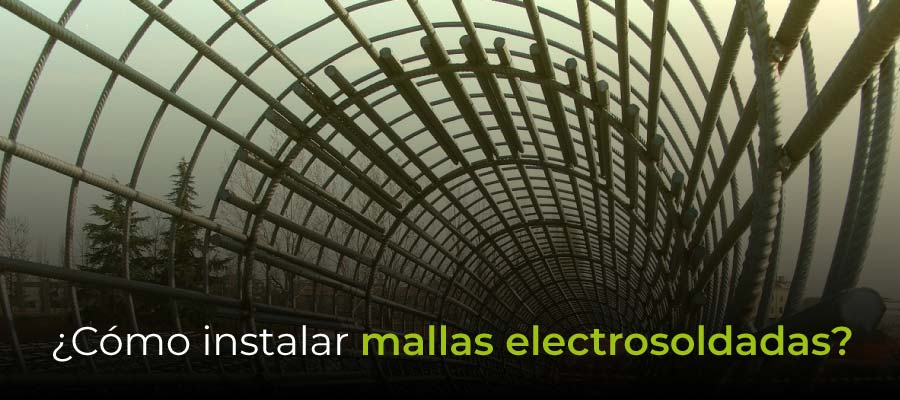 ¿Cómo instalar mallas electrosoldadas?