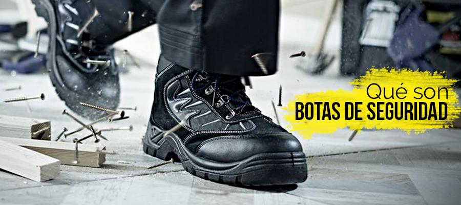 Qué son botas de seguridad