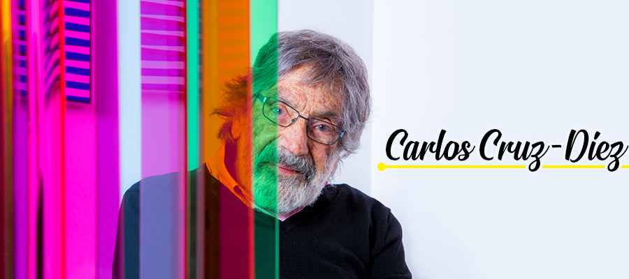 Carlos Cruz-Diez, maestro del color y del movimiento
