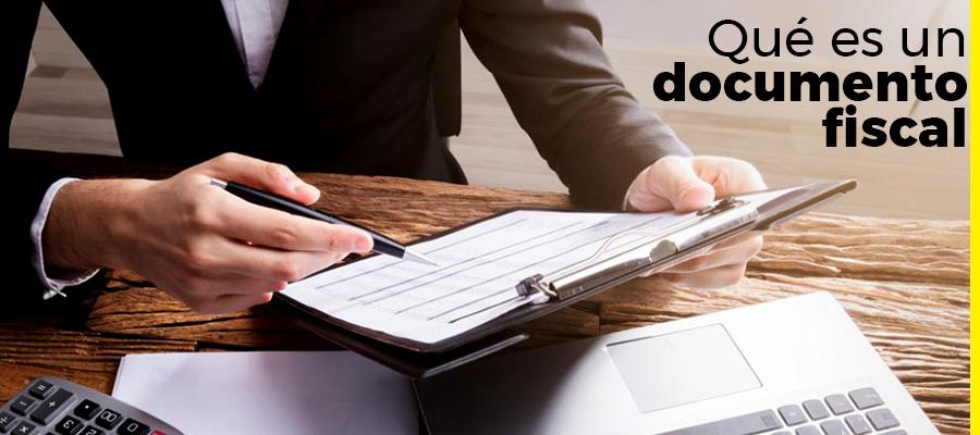 Qué es un documento fiscal
