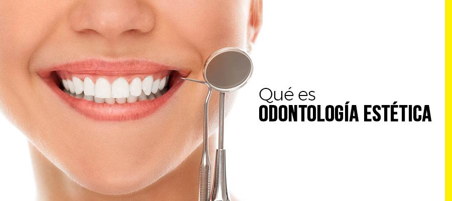 Qué es odontología estética
