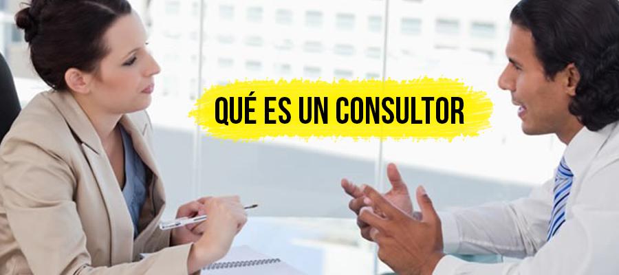 Qué es un consultor